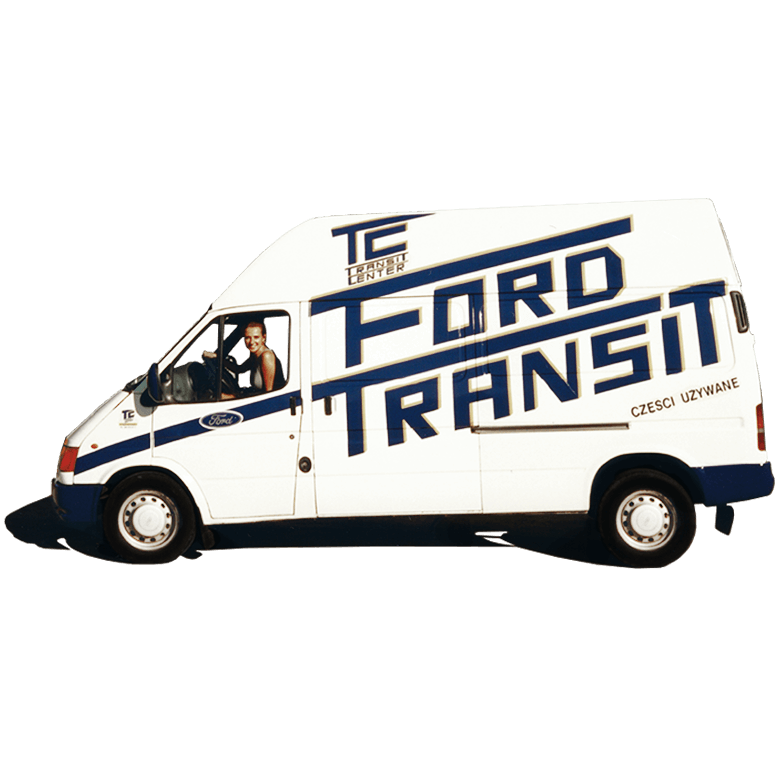 Ford Transit MK5 Transit Center Историята на